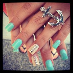 nails and i  love the ring!