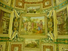 More ceilings inside the Vatican Museums