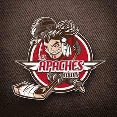 My boss is a hockey player, and his team wants to change logos. Mascot Design, Logo Design, Graphic Design, Hockey Logos, Sports Logos, Logan, Graphic Prints, Poster Prints, Posters