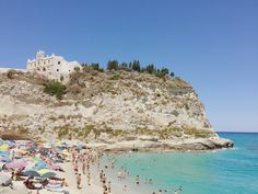 Tropea Beach, Calabria Travel Pictures, Grand Canyon, Around The Worlds, Photo And Video, Beach, Water, Outdoor, Instagram, Travel Photos