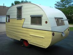 Vintage Travel Trailer Camper 1956 Shasta