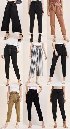 Girls Fashion Clothes, Teen Fashion Outfits, Mode Outfits, Fashion Pants, Trendy Fashion, Cute Casual Outfits, Stylish Outfits, Dress Casual, Casual Pants