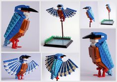 Reminded me of the bird-loving Betches! LEGO Sculptures of Popular British Birds by Thomas Poulsom