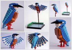 Gli uccelli Lego di Thomas Poulsom
