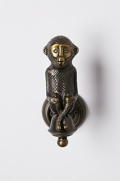 Sitting Simian Tieback #anthropologie