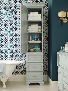 Portland Drawer Narrow Bathroom Storage A Four Drawer Free