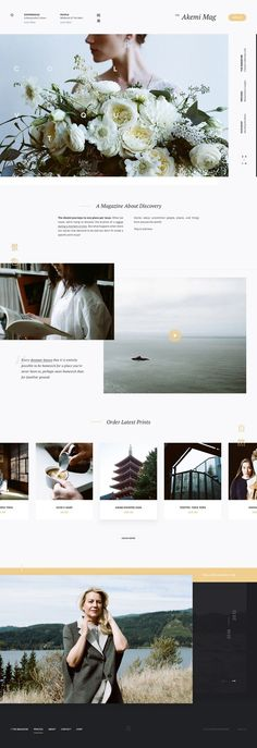 web layout by Andrew Baygulov