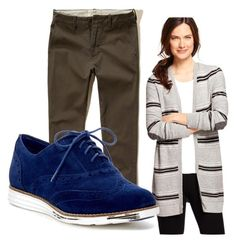 Keep teaching interesting. by julialawrence-i on Polyvore featuring Talbots, Cole Haan and Hollister Co.