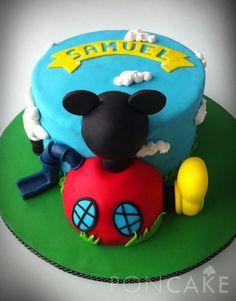 Mickey Mouse Clubhouse Cake - Torta de la Casa de Mickey - Torta del Club de Mickey