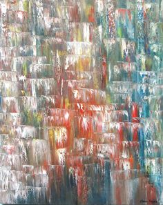 Shops, Signature Style, Abstract, Waterfalls, Header, Beautiful Things, Artwork, Painting, Etsy