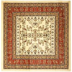 Place this exquisite ivory rug in the center of a room to serve as a wonderful accent piece that will surely tie the décor together. The intricate Oriental design is perfect for traditional Asian-inspired interiors, giving your home a stylish look.