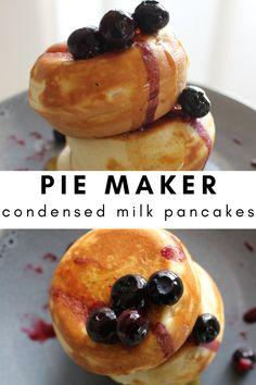 Mini Pie Recipes, Waffle Maker Recipes, Pie Crust Recipes, Homemade Cake Recipes, Sweet Recipes, Baking Recipes, Snack Recipes, Dessert Recipes, Snacks