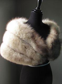 Ultimate Luxury Gift Or Wedding Bridal by AutumnandYosVintage Fur Skirt, Wedding Fur, Fur Bag, Fur Accessories, Black Tie Affair, Fur Blanket, Womens Fashion, Fashion Trends, Creations