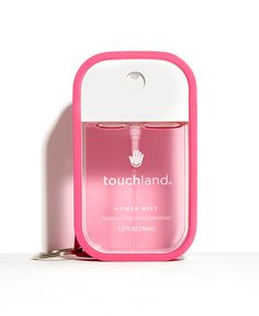 Introducing Power Mist Hand Sanitizer: sprays of wellbeing in your pocket, keeping your hands bacteria free while delicately-scented and moisturized Bright Summer Acrylic Nails, Pink Power, Perfume, Cool Things To Buy, Stuff To Buy, Cute Things For Girls, Girly Things, Birthday Wishlist, Body Works