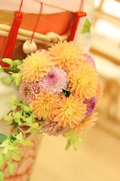 Fleurs de Fleurs(フルール ドゥ フルール)  和装ブーケ