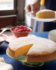 Simple Lemon Cake Recipe