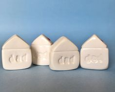 DAD Fathers Day Gift Little Clay House by thelittlereddoor on Etsy