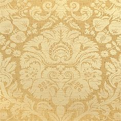 """T1730 Pattern MANHATTAN DAMASK Wallpaper Collection Damask Resource 2 Colorway Metallic on Brown Construction Wallpaper Width 27.00""""(68.58 cm) Repeat V 36.00""""(91.44 cm)"""
