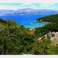Lovrečina sandy beach, Brac island, Croatia
