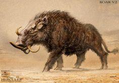 Erymanthian Boar Hercules 2014 | Erymanthian Boar