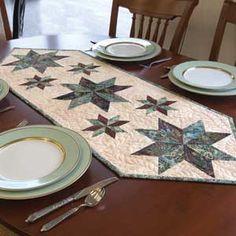 MINI STARS TABLE RUNNER