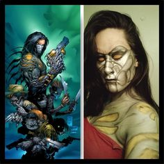 #art #makeup #painting #artistic #comicbooks #beauty #gamer #fanart #videogames #thedarkness #movies #bodypaint #photooftheday