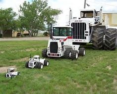 Image result for worlds smallest and largest tractor
