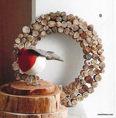Roost Driftwood Slice Wall Wreaths & Trees
