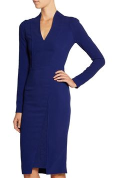 Roland Mouret Blaps stretch-crepe dress