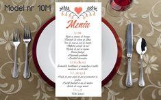 Wedding Menu, Tableware, Floral, Dinnerware, Wedding Dinner Menu, Dishes, Flowers, Flower, Porcelain Ceramics