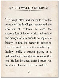 Ralph Waldo Emerson Vintage Book Page Literary Quote Print. Fine Art Paper, Laminated, or Framed. Multiple Sizes for Home, Office, or School - Echo-Lit Now Quotes, Great Quotes, Words Quotes, Quotes To Live By, Inspirational Quotes, Sayings, Quotes From Books, People Quotes, Lyric Quotes