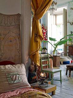 new bedroom inspiration. La Maison Boheme: Home Tour | Architect and Artist Tomás Colaço