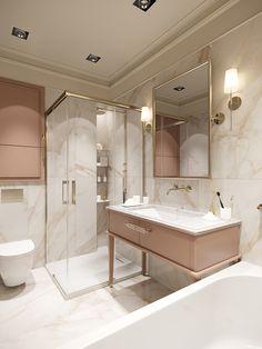 Apartment designLocation: Kyiv, UkraineTeam leader: Kateryna Mardanova The author: Ivanna KliuchnykArea: year: 2019 Home Room Design, Dream Home Design, Home Interior Design, Bathroom Design Luxury, Modern Bathroom Design, Luxurious Bedrooms, Bathroom Inspiration, Bathroom Ideas, Apartment Design