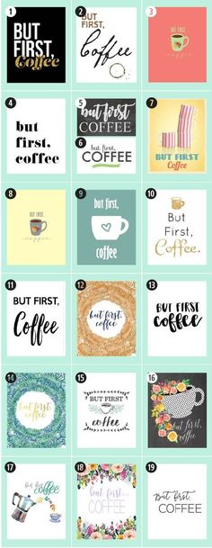 180+ Coffee Free Printables: The Ultimate Guide • Little Gold Pixel • Find the motherlode of curated coffee printables here. Click through to see more!