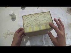 DIY: Faça você mesmo | Video Aula Falso Couro | Livia Fiorelli | Life Artesanato - YouTube