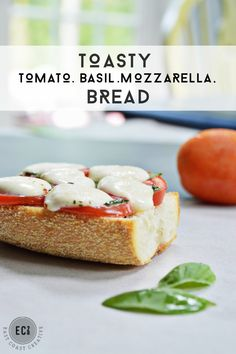 Tomato basil Mozzarella Bread - East Coast Creative Blog