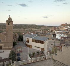 Ayuntamiento de Escatrón,© Pedro Pegenaute