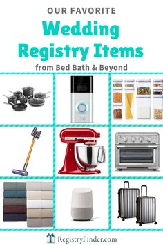 20 Best Items To Add Your Wedding Registry At Bed Bath And Beyond