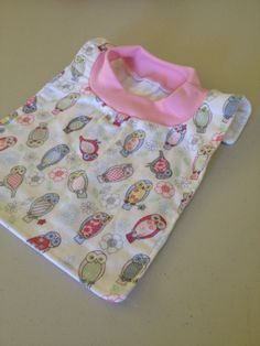 Mini Owl Pop-Over Bib by BabyBubbaSteps on Etsy