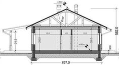 Projekt domu Terrier 2 bez garażu 93,3 m2 - koszt budowy - EXTRADOM Terrier, Sweet Home, Floor Plans, Home Decor, Design, Houses, Haus, Decoration Home, Terriers