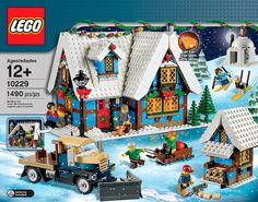 10229 Winter Village Cottage by LEGO. $100 in October. Great addition to the annual theme!
