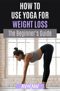 Yoga is amazing for your health for so many reasons, but these reasons below will help you learn how to use yoga for weight loss specifically! #avocadu #yoga #yogaforbeginners #weightloss Yoga For Weight Loss, Best Yoga, Yoga For Beginners, Stress And Anxiety, Yoga Inspiration, Being Used, Yoga Fitness, Yoga Poses, Lose Weight