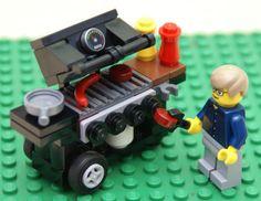 Custom LEGO grill