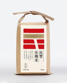 民豐有機米 on Behance