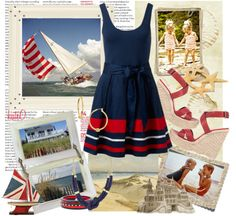 """""""Cape Cod Weekend"""" by kateo on Polyvore"""