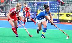 Chiara Tiddi, Captain Italia Field Hockey Team. World League 3, London 2013.