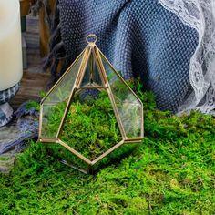 Handmade Hanging Teardrop Shape Gold Glass Geomtric image 3 Wedding Ring Box, Gold Glass, Classic Elegance, Fairy Lights, Terrarium, Floral Wedding, Shapes, Handmade, Gift Ideas