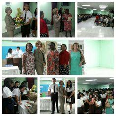 Conversatorio con los estudiantes de Instituto José D. Moscote el 22 de septiembre de 2016