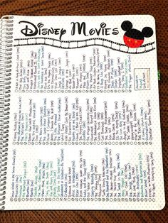 A Look Through My Bullet Journal (so far)You can find List of disney movies and more on our website.A Look Through My Bullet Journal (so far) Bullet Journal Inspo, Bullet Journal Netflix, Bullet Journal Notebook, Bullet Journal Aesthetic, Bullet Journal Spread, Bullet Journals, Bullet Journal Films, Bullet Journal 2019, Bullet Journal Ideas Templates