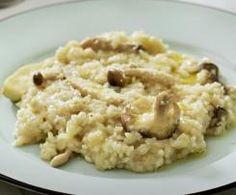 RISOTTO CON SETAS A LA CERVEZA Oatmeal, Breakfast, Ethnic Recipes, Food, Arrows, Risotto, White Rice Recipes, Tasty Food Recipes, Essen